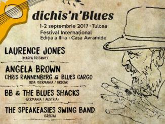 "Afișl ""dichis'n'Blues"" 2017"