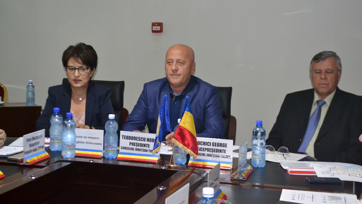 Președintele CJ Tulcea, Horia Teodorescu susține asfaltarea unui nou drum