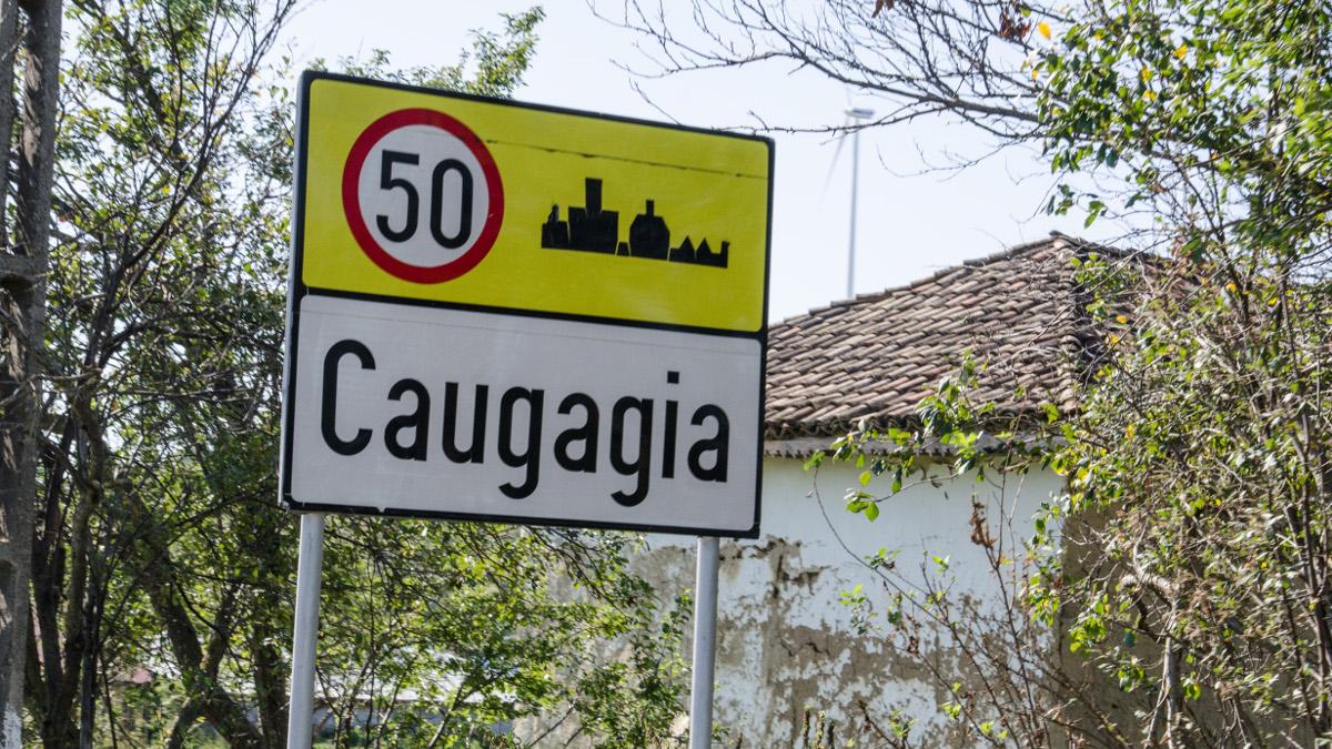 Indicator localitate Caugagia 1