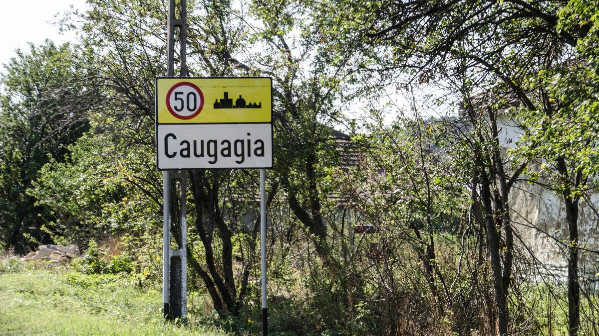 Indicator localitate Caugagia