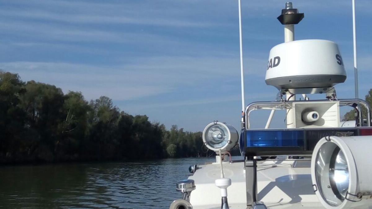 Ambarcatiune SAR pe Dunare