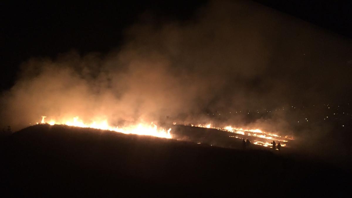 Incendiu de vegetatie uscata (5)