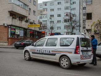 Polițiștii tulceni în acțiune. FOTO Cătălin Schipor