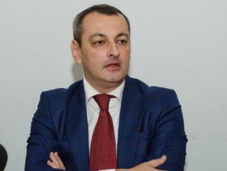 Prefectul județului Tulcea, Lucian Furdui. FOTO Cătălin Schipor