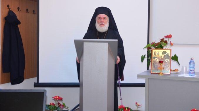 PS Visarion, episcopul Tulcii. FOTO Episcopia Tulcii