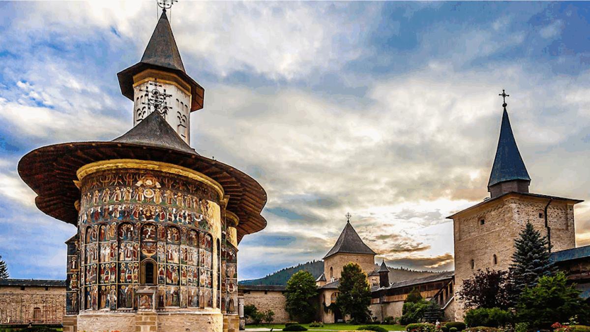 Mănăstirile din Bucovina. FOTO HelloBucovina