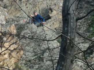 Minorul salvat din Munții Măcinului. FOTO ISU Delta