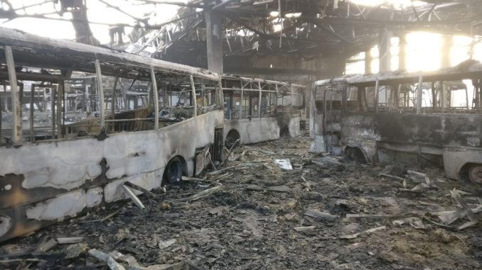 Autobuze arse