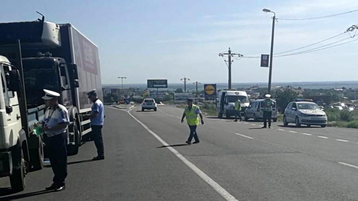 politie transport marfuri