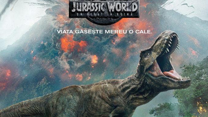 "Afișul filmului ""Jurassic World"". FOTO Coral Plaza Mall"