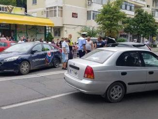 Accident pe strada Isaccei din Tulcea