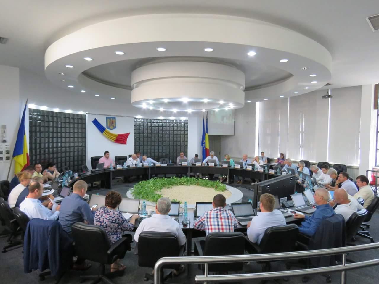Sedinta Consiliu Judetean Tulcea CJ