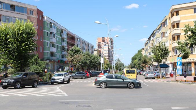 Centrul municipiului Tulcea. FOTO Adrian Boioglu