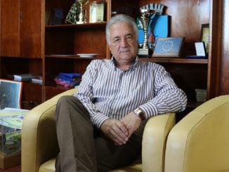 Constantin Hogea, primarul municipiului Tulcea. FOTO Adrian Boioglu