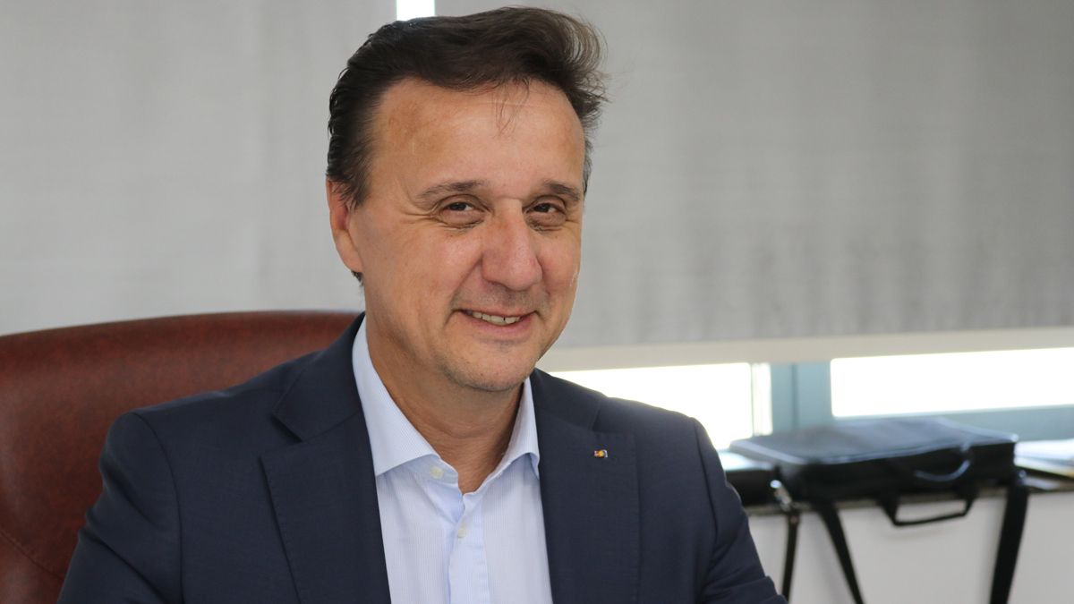 Cătălin Țibuleac, președintele Asociației de Management al Destinației Turistice Delta Dunării. FOTO Adrian Boioglu