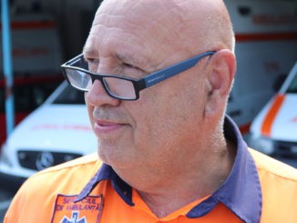 Dr. Dumitru Vâlcu, directorul Serviciului de Ambulanță Delta Tulcea. FOTO Adrian Boioglu