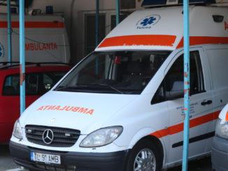 Ambulanța Tulcea. FOTO Adrian Boioglu