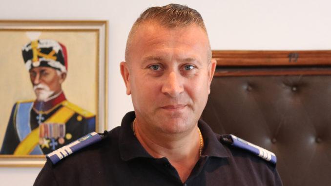 col. Ion Bordei, șeful Jandarmeriei Tulcea. FOTO Adrian Boioglu