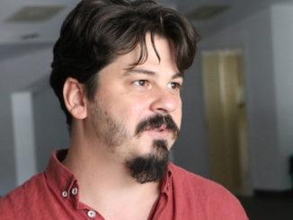 Ionuț Ștefan, directorul Centrului Cultural Jean Bart Tulcea. FOTO Adrian Boioglu