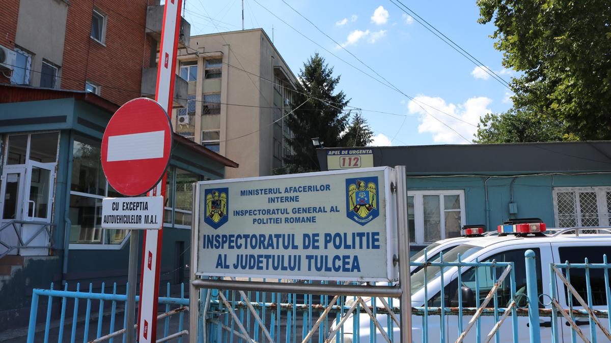 Sediul IPJ Tulcea. FOTO Adrian Boioglu