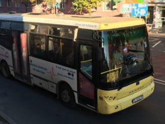 Autobuz al STP Tulcea. FOTO Adrian Boioglu