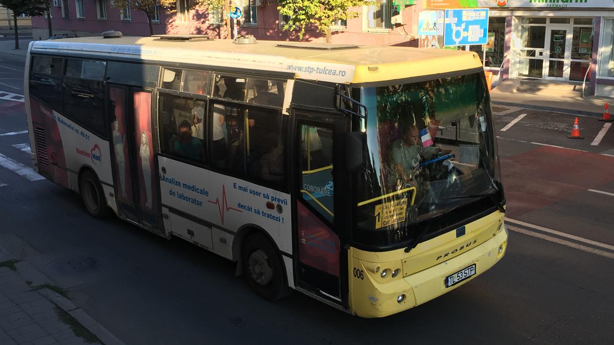 Autobuz Tulcea