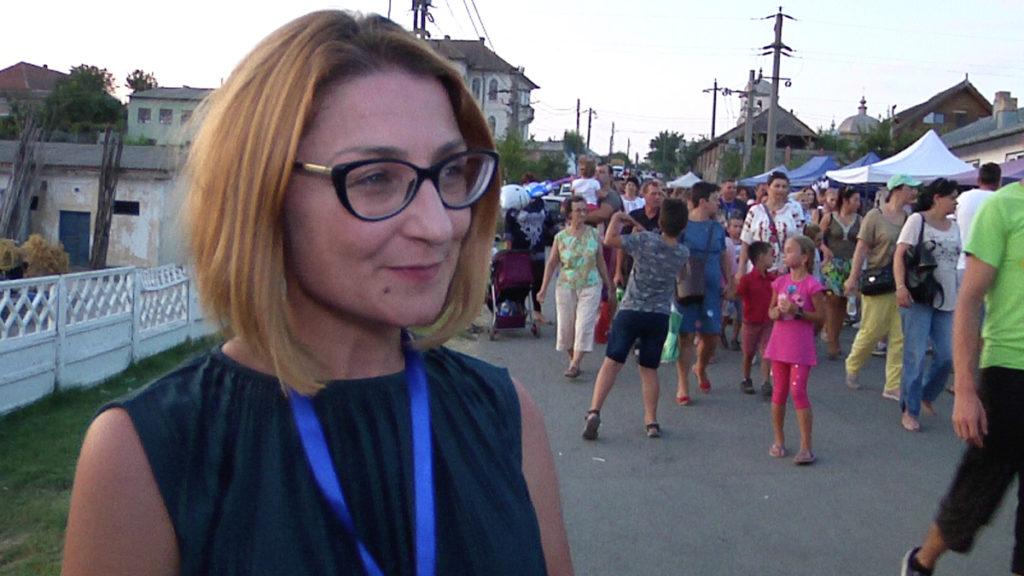 Gentillia Balaban, consilier al Primarului din Jurlilovca și organizator al evenimentului. FOTO TLnews.ro