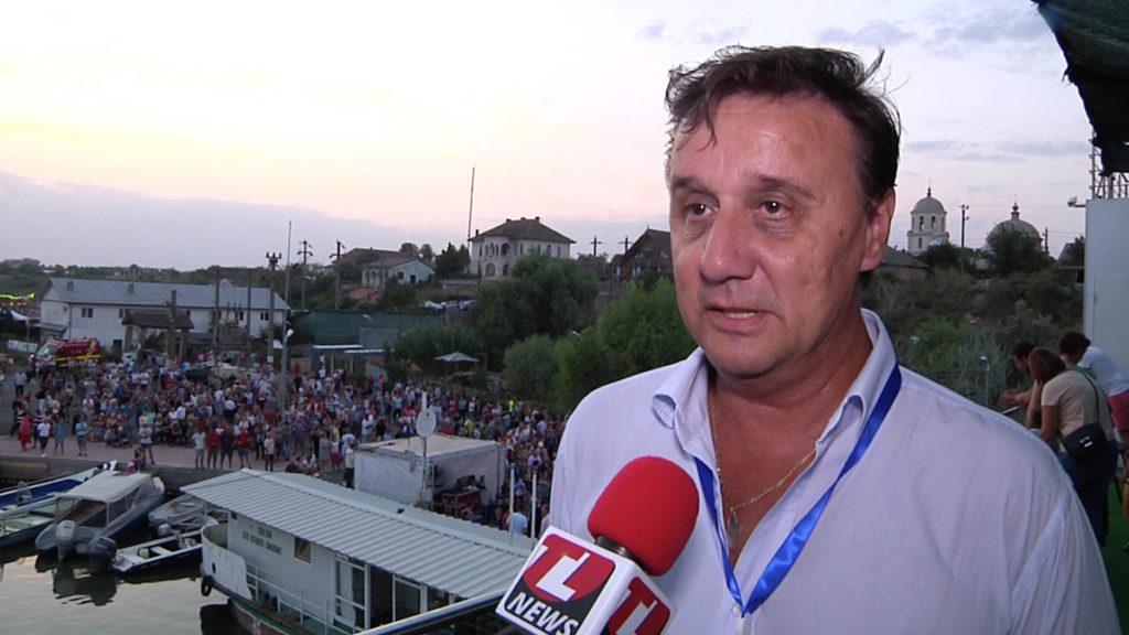Cătălin Țibuleac, președintele Asociației de Managemenr al Destinației Turistice Delta Dunării. FOTO TLnews.ro