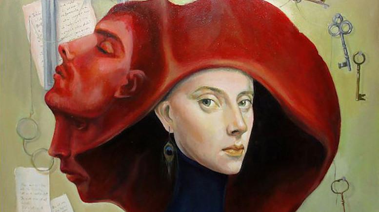 Pictură realizată de Elena Orbocea
