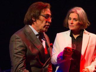 Maia Morgenstern și Marius Bodochi în piesa Elixir. FOTO Facebook Maia Morgenstern.jpg