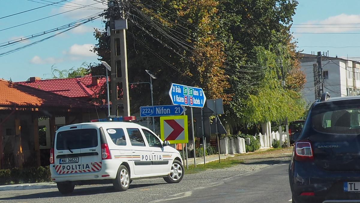 Politie rutiera trafic radar