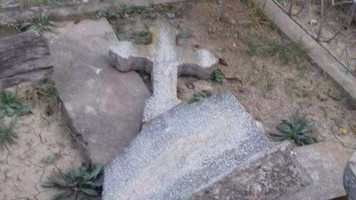 Mormânt profanat în municipiul Tulcea