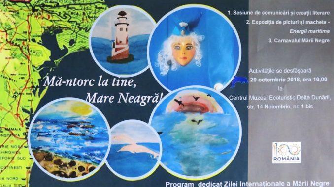 Afișul evenimentului dedicat Zilei Mării Negre