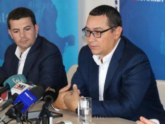 Victor Ponta și Daniel Constantin. FOTO Facebook