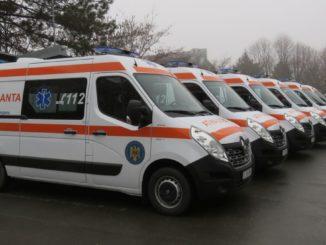 Ambulanțe noi pentru județul Tulcea FOTO CJ Tulcea