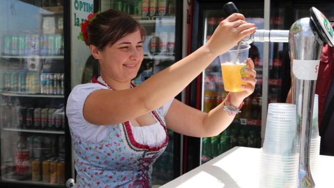 Sărbătoarea berii la Tulcea. FOTO Adrian Boioglu