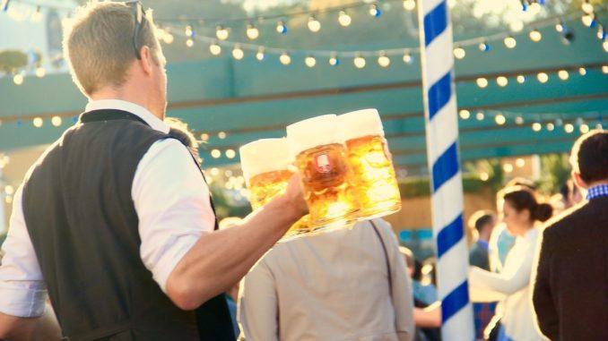 Sărbătoarea berii la Tulcea. FOTO: motointermedia