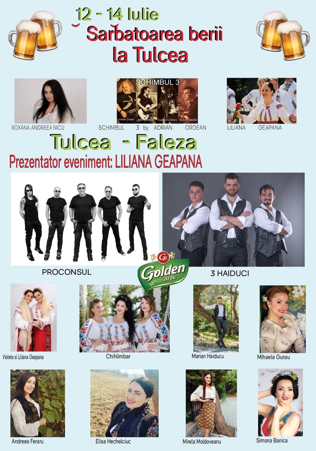 Afișul evenimentului Sărbătoarea berii la Tulcea