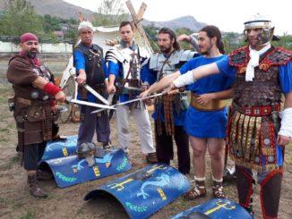 Reconstituiri istorice la Festivalul Cetăților Romane de la Turcoaia. FOTO Brianna Andra Tiu