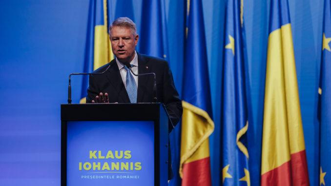 Klaus Iohannis. FOTO PNL Tulcea