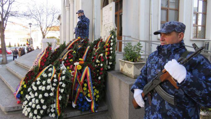 Eroii Revoluției, comemorați la Tulcea. FOTO CJ Tulcea