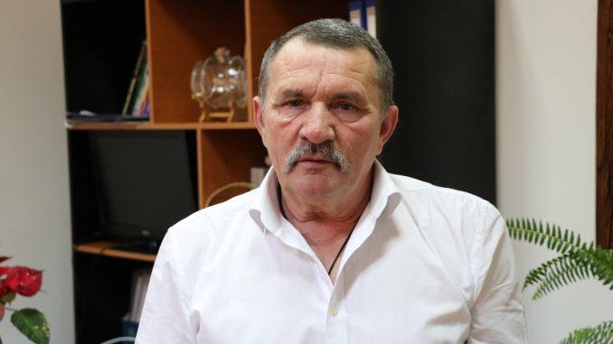 Ion Șerpescu, primarul comunei Mahmudia. FOTO Adrian Boioglu