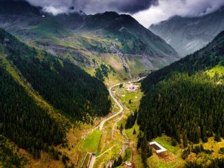 Un peisaj superb de munte din România. FOTO unsplash