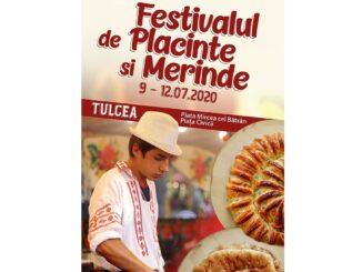 Festivalul de Plăcinte și Merinde, 09 - 12 iulie, în Piața Mircea cel Bătrân - Piața Civică din Tulcea
