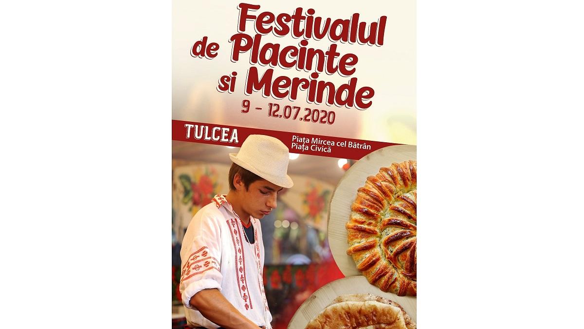 Festivalul de Plăcinte și Merinde, 09 – 12 iulie, în Piața Mircea cel Bătrân – Piața Civică din Tulcea