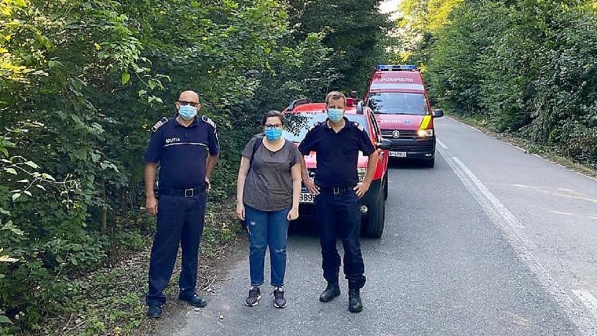 Acțiune în cooperare pentru căutarea a două persoane în Parcul Național Munții Măcinului. FOTO ISU Tulcea