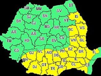 Atenționare meteorologică Cod Galben de caniculă, valabilă și pentru județul Tulcea